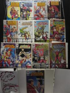 Valiant Archer & Armstrong 0-25 almost complete run F-VF or better