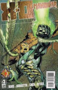 X-O Manowar (Vol. 2) #3 VF/NM; Acclaim | save on shipping - details inside