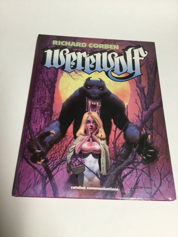 Werewolf HC Hardcover Oversized Richard Corbencatalan Communications