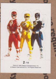1995 Mighty Morphin Power Rangers #2 Power Rangers