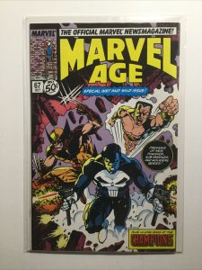 Marvel Age 67 Near Mint Nm Marvel