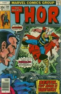 Thor (1966 series) #268, Fine+ (Stock photo)