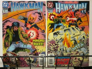 HAWKMAN (1993) 7-8 King of the Netherworld  complete!