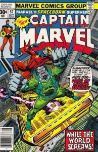 Captain Marvel (1st Series) #52 FN; Marvel   save on shipping - details inside