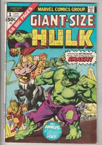 Giant-Size Incredible Hulk #1 (Jan-75) VF/NM High-Grade Hulk