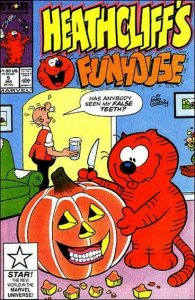 Heathcliff's Funhouse #5 VF; Marvel Star   save on shipping - details inside
