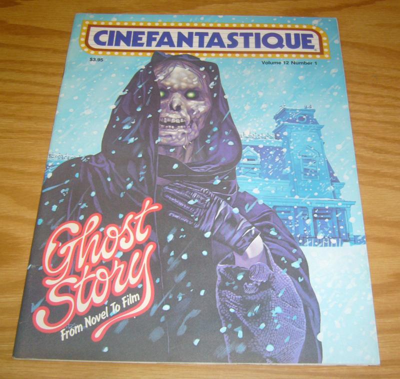 Cinefantastique vol. 12 #1 VF ghost story from novel to film - magazine 1982