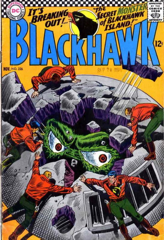 Blackhawk (1st Series) #226 FN; DC | save on shipping - details inside