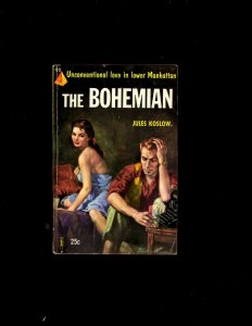 3 Pocket Books The Bohemian, Candidate For Love, I Had To Kill Her JL6
