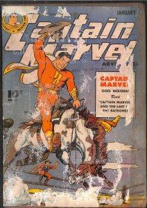 Captain Marvel Adventures #51 Very Low Grade