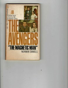 3 Books The Avengers Magnetic Man The Lost Continent Collins in a Fun Vein JK26