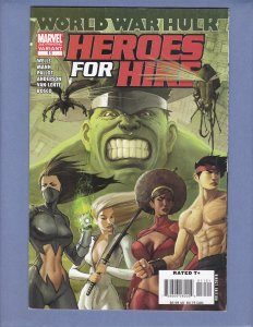 Heroes For Hire #11 2nd Print Variant VG/FN Hulk Marvel 2007