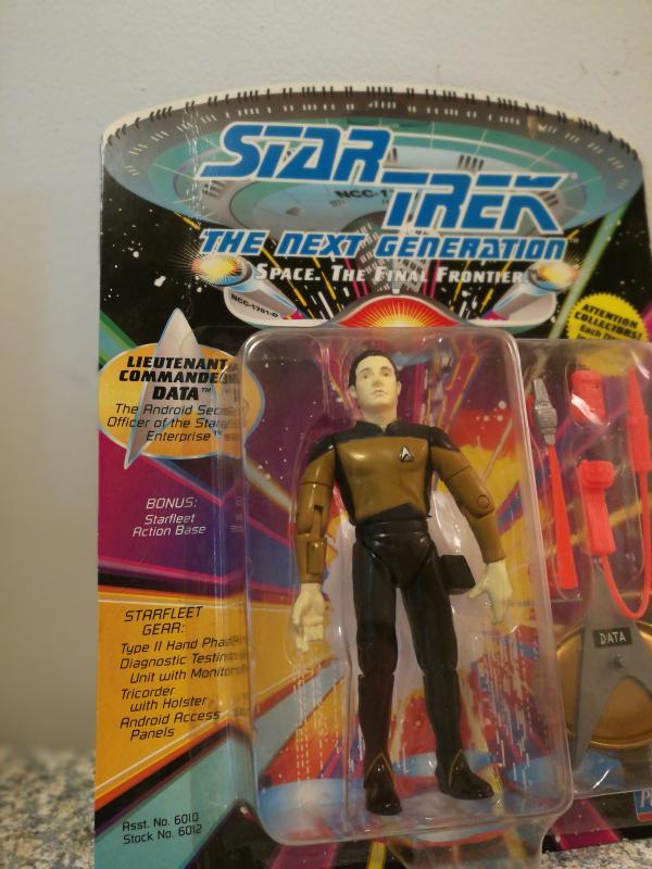 1992 Star Trek - next generation, Lt Commander Data