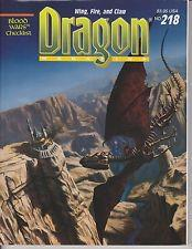 TSR DRAGON MAGAZINE #218 VF/NM