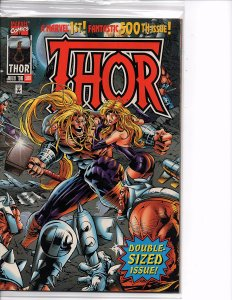 Marvel Comics The Mighty Thor #500 Mike Deodato, Jr. Wrap Around Cover