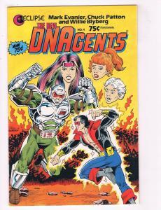 Dnagents #4 VF Eclipse Comics Comic Book Evanier 1985 DE38 AD11