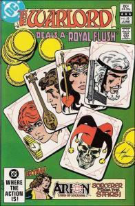 DC WARLORD (1976 Series) #58 FN