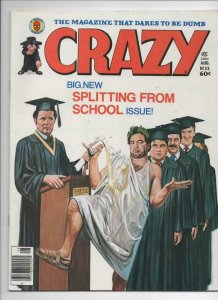CRAZY #53 Magazine, VF, Animal House John Belushi, 1973 1979, more in store