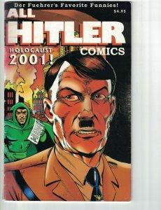 All Hitler Comics #1 holocaust 2001 - green lama vs adolf  world war II  WW2