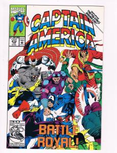 Captain America # 412 Marvel Comic Books Hi-Res Scan Modern Age Awesome Issue S5