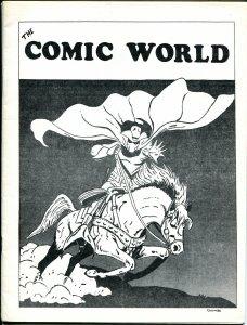 Comic World #12 1969-Robert Jennings-Ghost Rider-Johnny Craig & EC history-VF