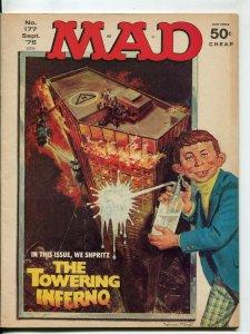 Mad-Magazine-#177-Sept-1975-Mort Drucker-Don Martin-David Berg