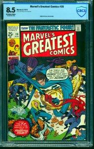 Marvel's Greatest Comics #28 CBCS VF+ 8.5 Off White to White
