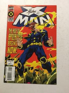 X-Man 1 NM Near Mint Signed By Mike Sellers W/ C.O.A.