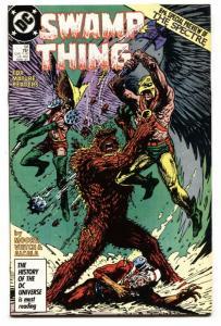 SWAMP THING #58 comic book 1987-Adam Strange issue