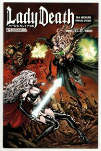 Lady Death Apocalypse #5 Auxilliary Cvr (Boundless, 2015) NM