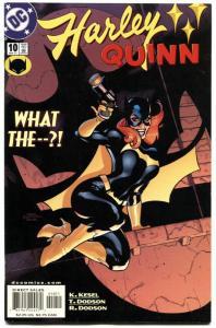 HARLEY QUINN #10-HARLEY QUINN-BATGIRL COVER-2001-HIGH GRADE-NM