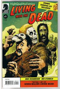 LIVING with the DEAD #1, NM, Richard Corben, Zombies, 2007, more RC in store