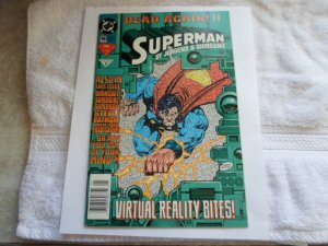 1995 DC COMICS DEAD AGAIN SUPERNAN  BY JURGENS & GIORDANO # 96