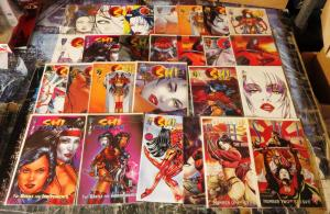 SHI Collection!  23 books- VF or better!  Bill Tucci! Daredevil! Tomoe! Cyblade!