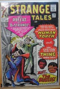 Strange Tales #130 (1965) Meet The Beatles !!!!  RARE !!!!
