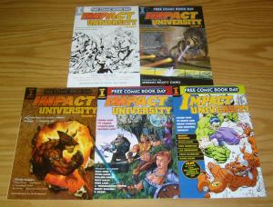 Impact University #1-5 VF/NM complete series - peter david - how to make comics