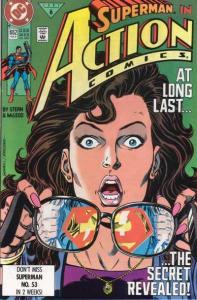Action Comics (1938 series) #662, VF+ (Stock photo)