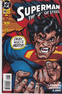 Superman: The Man of Steel #46