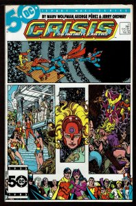 Crisis On Infinite Earthe #11  (Feb 1986, DC)  7.5 VF-