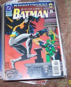 DETECTIVE COMICS  # 674 BATMAN 1994   -KNIGHTQUEST -DC  GUNHAWK AZRAEL ROBIN