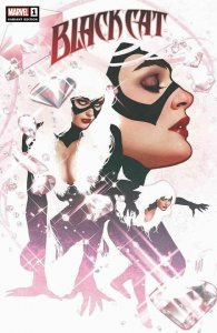 BLACK CAT 1 ADAM HUGHES TRADE VARIANT NM