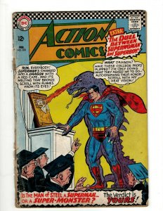 Action Comics # 333 GD DC Comic Book Superman Batman Green Lantern Flash KD1