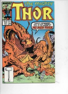 THOR #379 VF/NM God of Thunder Fin Fang Foom 1966 1987, more Marvel in store