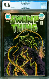 Swamp Thing #8 CGC Graded 9.6