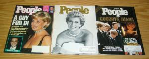 People Weekly Magazines (3) all princess diana covers - princess di 1997