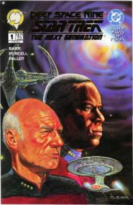 Star Trek: Deep Space Nine/Star Trek: The Next Generation #1A VF; Malibu | save