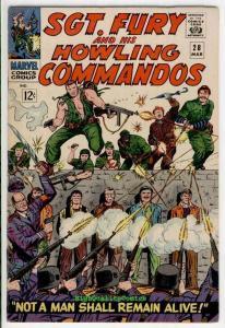SGT FURY #28, War, Hitler, Germans, Baron Strucker, 1963, VF