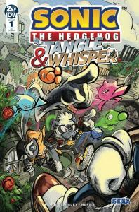 SONIC THE HEDGEHOG TANGLE & WHISPER (2019 IDW) #1 VARIANT 1:10 SKE PRESALE-07/31
