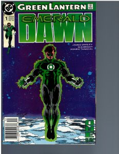 Green Lantern: Emerald Dawn #1 (1989)