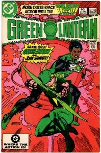 Green Lantern #165 (1960 v2) John Stewart Green Arrow NM-